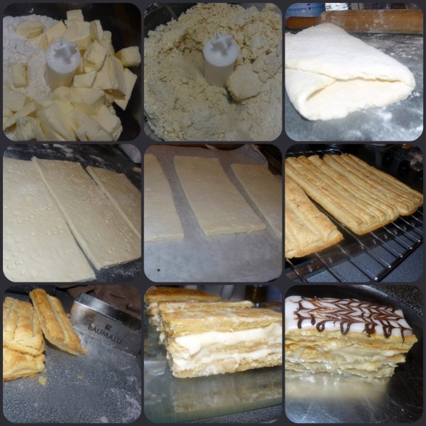 montage millefeuille