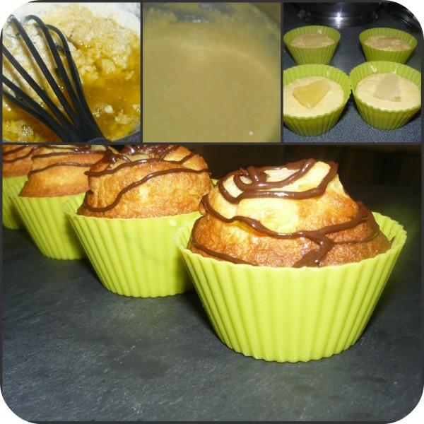 muffins à l\'ananas et au miel