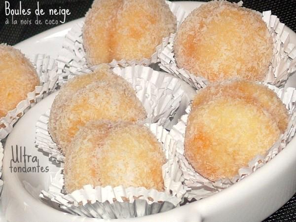 Boules coco ou Gâteau Richbond  Cuisine Marocaine