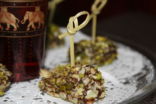 Truffes au chocolat pruneaux