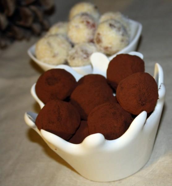 truffes au chocolat a la creme de marron