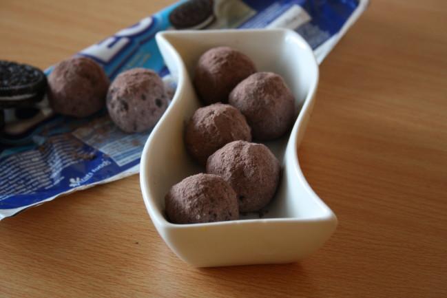 truffes aux oréos