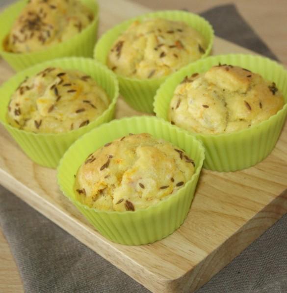 muffins aux carottes et cumin