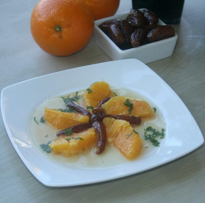 salade d\'oranges