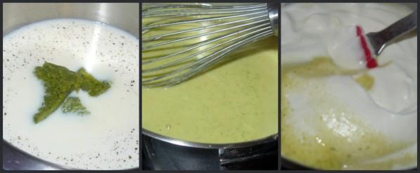 Picnik collage bavarois pistache1