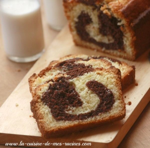 cake marbre moelleux