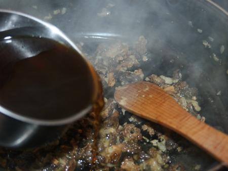 Saumon sauce aux morilles