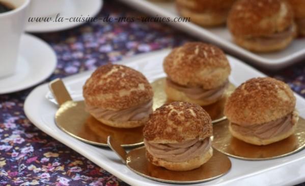 Pâte a choux croustillante(choux craquelin)