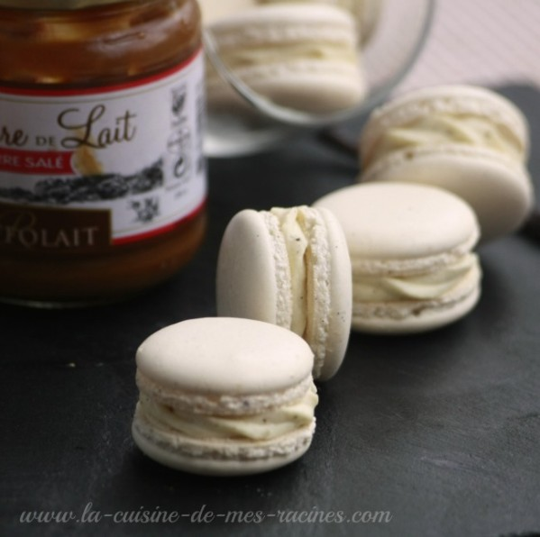 macarons vanilles