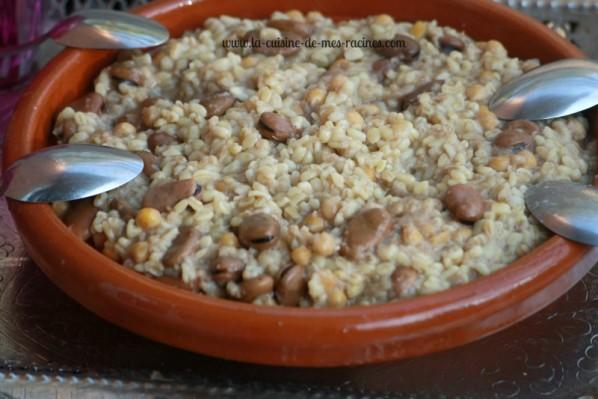 cherchem,plat algerien
