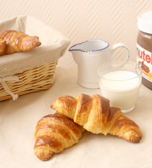 recette croissant_croissant au beurre_croissant facile et rapide