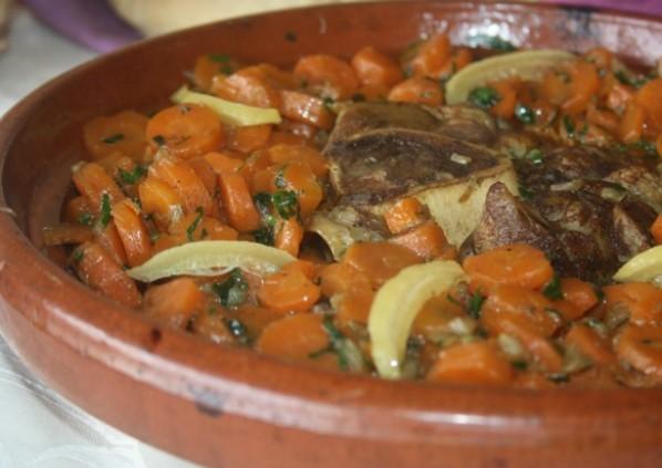 Tajine de veaux aux carottes