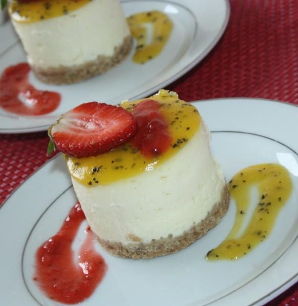 Photo 1749 - Cheesecake fruit de la passion ...