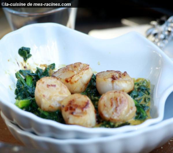 Bloggif - Noix de saint jacques curry ...