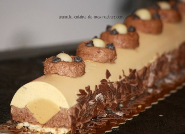 Buche glacee chocolat caramel beurre sale
