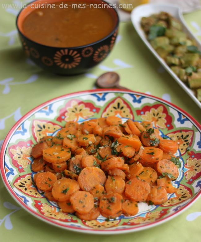 La Cuisine Algerienne: Salade De Carottes Au Cumin
