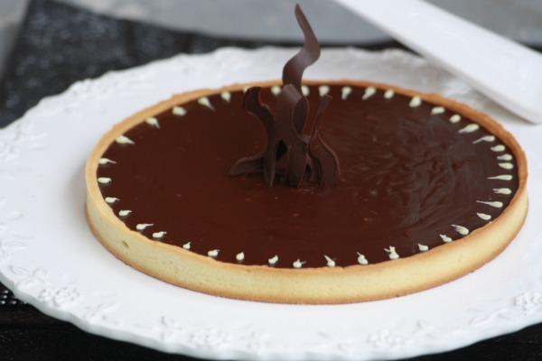 Tarte au chocolat - Comment decorer une tarte au chocolat ...
