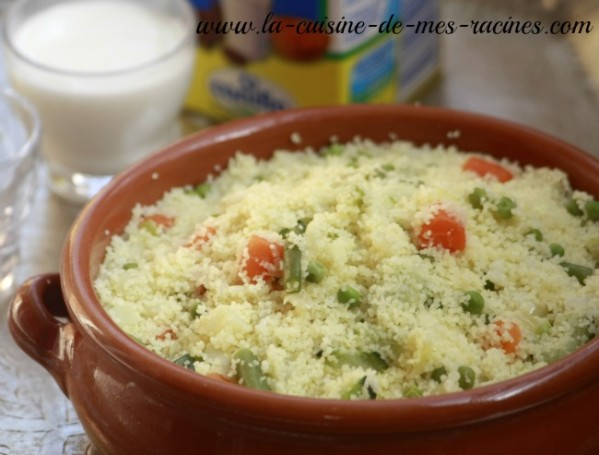 Couscous kabyle for Recette kabyle tikourbabine
