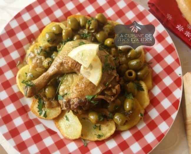 poulet-aux-olives-recette