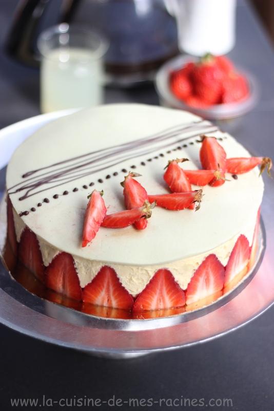 Recette fraisier gateau facile - Recette gateau facile et original ...